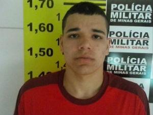 Rafael Soares Lemos, de 18 anos, morreu com disparos na festa em Uberlândia (Foto: Divulgação PM)