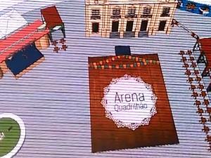 Arena Quadrilhão é a novidade do São João 2015 em Campina Grande (Foto: Reprodução/PMCG)