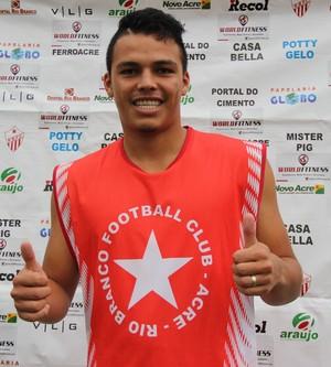 André Lima, meio-campo do Rio Banco-AC (Foto: João Paulo Maia)