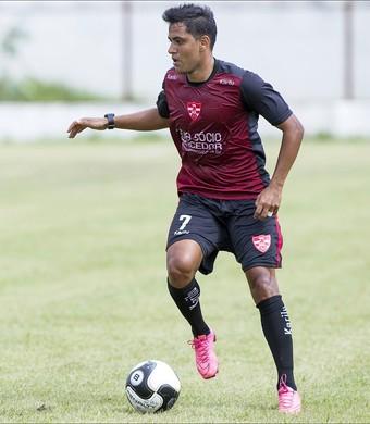 Leandro Brasília, meia, Linense, treino, Paulistão (Foto: José Luis Silva / Ag. CA Linense)