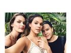Lindas! Bruna Marquezine faz selfie com Yasmin Brunet