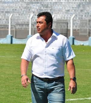 Técnico China, Grêmio Prudente (Foto: Rodolfo Lesse / Cedida)