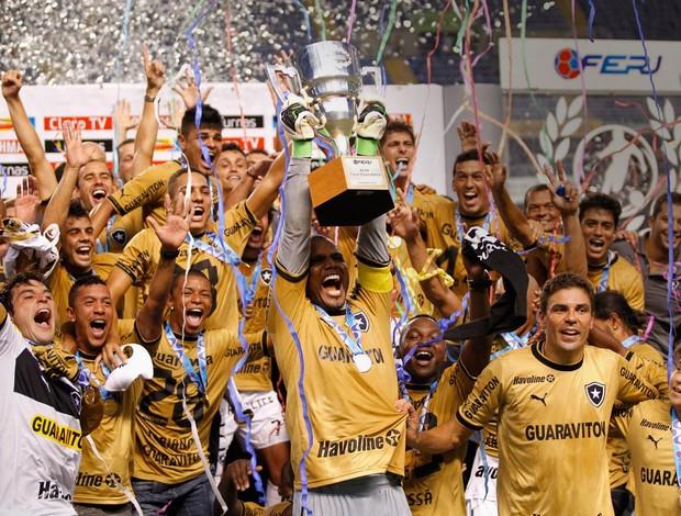 Botafogo campeão da Taça Guanabara (Foto: Alexandre Cassiano/Agência Globo)