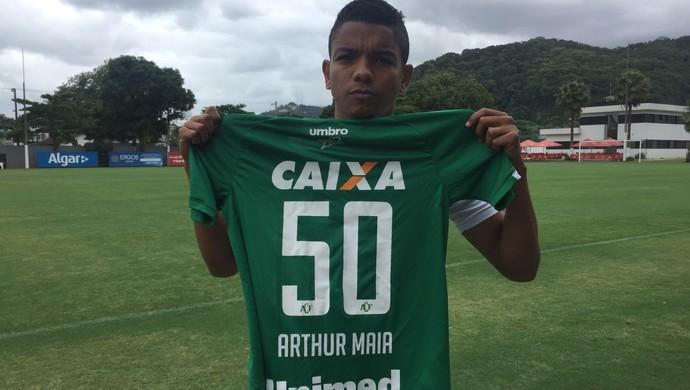 David Braz Santos (Foto: Divulgação / Santos FC)