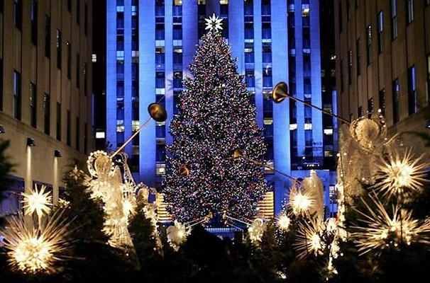 Arvore de Natal Solidária - Natal em Nova York (Foto: Reprodução Globo.com)