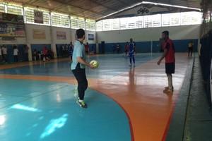 Miguel Pereira e Angra empataram em 2 a 2 (Foto: Cibele Moreira/TV Rio Sul)