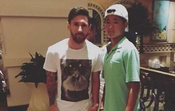 Messi tira férias nas Bahamas, e amigo acredita em volta à seleção argentina