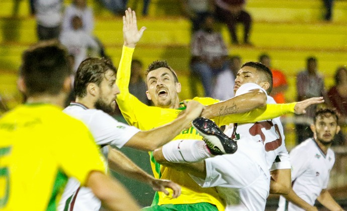 Fluminense x Ypiranga Copa do Brasil (Foto: Agência Estado)