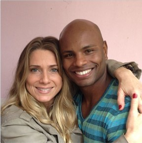 Leticia Spiller e Antonio Firmino (Foto: Reprodução/Instagram)