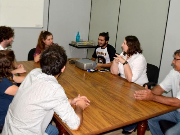 Empresas compartilham clientes e aumentam resultados em coworking inteligente (Foto: Priscilla Geremias / G1)