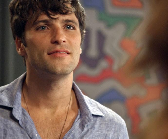 Murilo joga algumas verdades na cara de Regina (Foto: TV Globo)