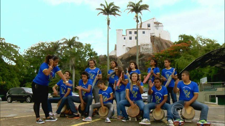 Banda de Congo Mirim da Ilha  (Foto: Divulgação)