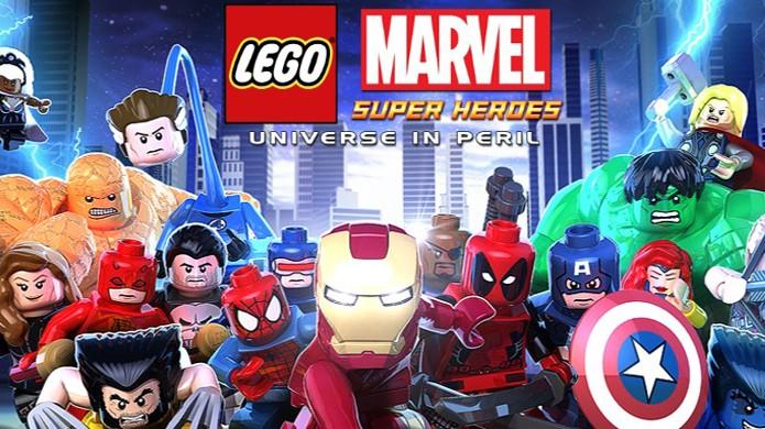 LEGO Marvel Super Heroes: Universe in Peril traz a mesma aventura em escala menor (Foto: Reprodução)