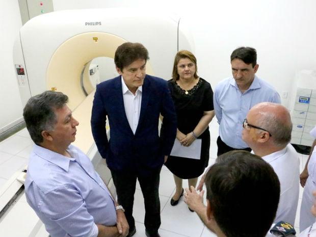 Com ordem de serviço, obra no hospital da PM será retomada e após concluída oferecerá 130 leitos (Foto: Demis Roussos/Governo do RN)