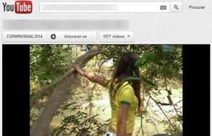 Em 2012, página foi retirada do ar por mostrar vídeos de meninas de biquíni em poses sensuais (Foto: Reprodução/YouTube)