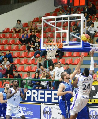 Mogi X São José Paulista basquete (Foto: Bruno Rocha)