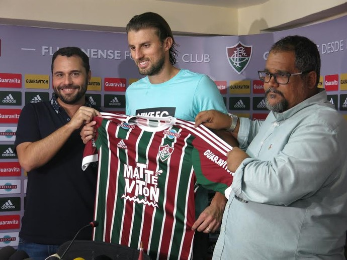 Henrique, Fluminense (Foto: Edgard Maciel de Sá)