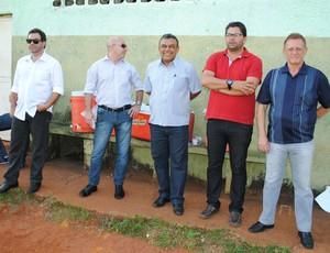 Claudemir Peixoto Treino União Barbarense Leão da Treze (Foto: Rosângela Luciano / Diário SBO)
