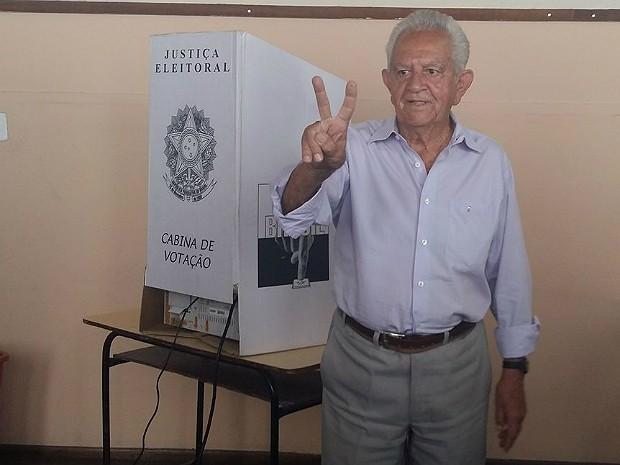 Galileu candidato a prefeito em Divinópolis (Foto: Anna Lúcia Silva/G1)