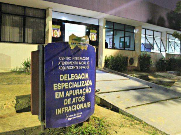Caso foi encaminhado à DEAAI, em Manaus (Foto: Sérgio Rodrigues/ G1 AM)