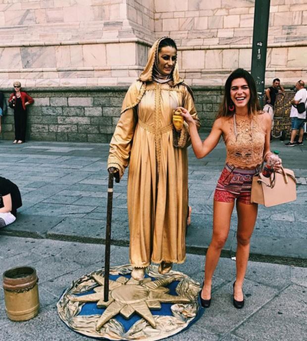 Mariana Goldfarb compartilha álbum de viagem pela Itália (Foto: Reprodução)