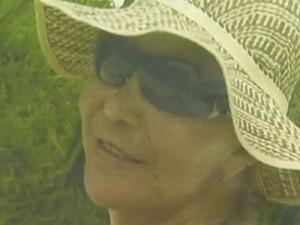 Eva Bernardes, mãe do cantor Adriano, da dupla André e Adriano, é assassinada, em Goiás (Foto: Reprodução TV Anhanguera)