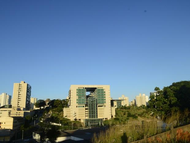 Sede da Pretrobras em Vitória é investigada (Foto: Ricardo Medeiros/ A Gazeta)