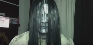 Maquiador de efeitos especiais Victor Nogueira ensina caracterização de Samara Morgan do filme O chamado (Foto: Reprodução/Arquivo Pessoal)