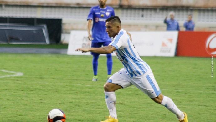 Wilkerson pôde fazer sua estreia como profissional do Paysandu (Foto: Fernando Torres / Ascom Paysandu)