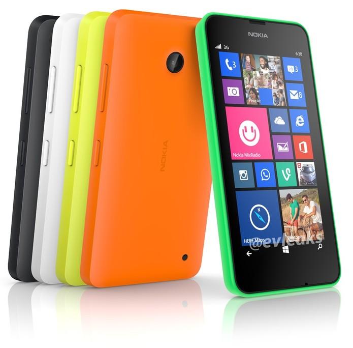 Lumia 630 tem processador quad-core, dual-chip e TV Digital (Foto: Divulgação/Microsoft)