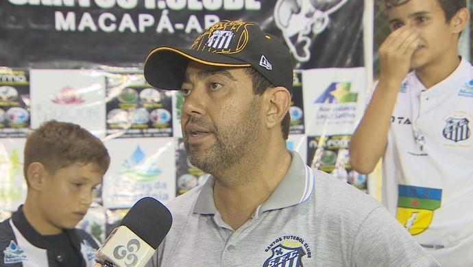 Luciano Marba; Santos-AP; Amapá (Foto: Reprodução/Rede Amazônica no Amapá)