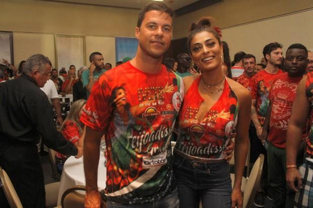 Juliana Paes e Carlos Eduardo (Foto: Rodrigo dos Anjos / Daniel Pinheiro / AgNews)