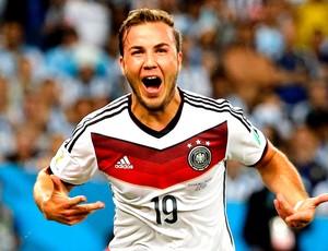 Mario Gotze gol final Alemanha x Argentina