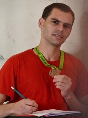 Detento de Formiga conquistou bronze em Olimpíadas de Matemática (Foto: Seds/Divulgação)