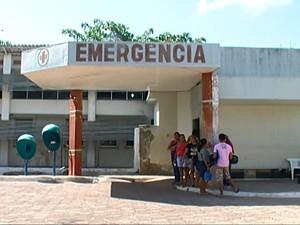 Faltam medicamentos no setor de emergência do Hospital Municipal de Monte Alegre. (Foto: Reprodução/TV Tapajós)