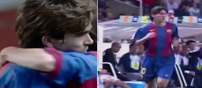 BLOG: Barcelona comemora 12 anos da estreia de Messi na equipe profissional