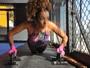 Alinne Prado conquista manequim 36 com prática de muay thai