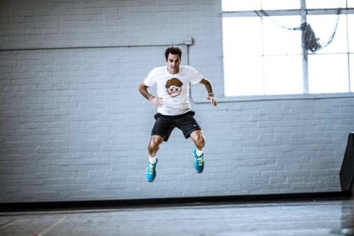 Roger Federer, emoji (Foto: Reprodução / Twitter)