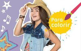 [Álbum da Gaby] Para colorir