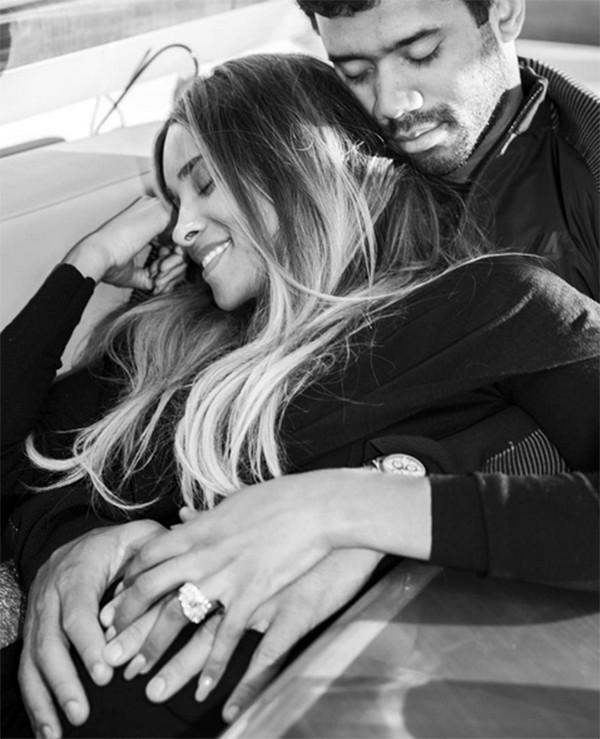 Ciara e Russel Wilson (Foto: Instagram)