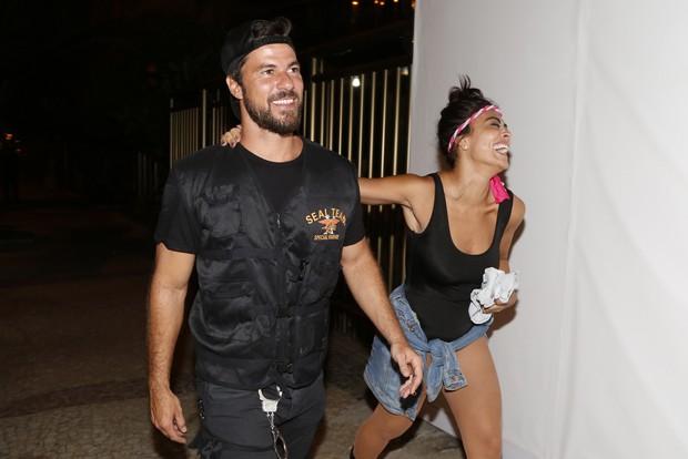 Juliana Paes com o marido (Foto: Felipe Assumpção / AgNews)
