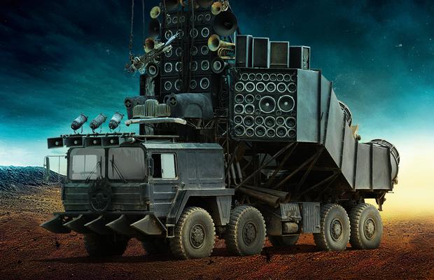 Doof Wagon, do filme Mad Max: Estrada da Fúria (Foto: Warner Bros.)
