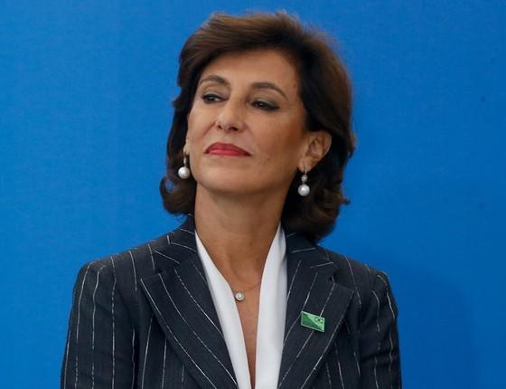 Maria Silvia Bastos Marques renunciou à presidência do BNDES 359 dias depois de ter assumido o cargo (Foto:  Pedro Ladeira/Folhapress)