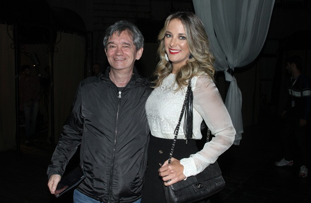 Serginho Groisman e Ticiane Pinheiro (Foto: Amauri Nehn/Foto Rio News)