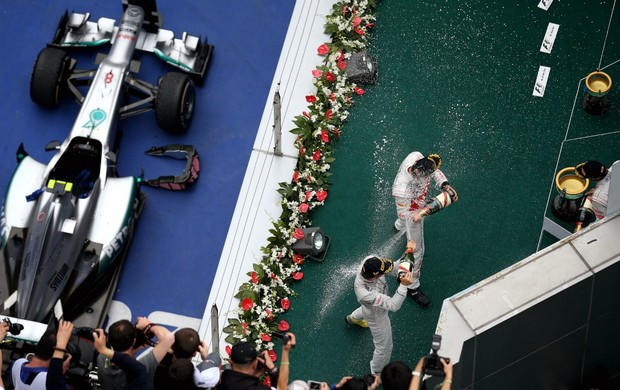 F1 Gp da China Nico Rosberg (Foto: Getty Images)