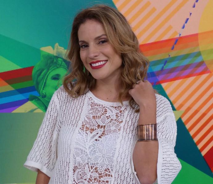 Maíra Charken arrasa nas pulseiras e braceletes (Foto: Brunella Menezes / Gshow)