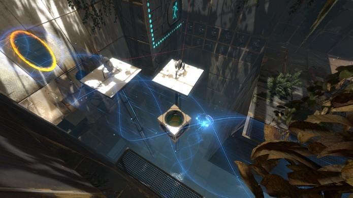 Portal 2: game traz puzzles desafiantes e história divertida (Foto: Divulgação)