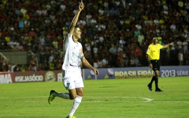 Gol América-MG x Sport (Foto: Matheus Britto / Agência Estado)