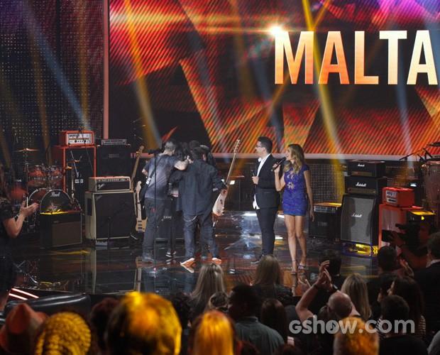 É campeã! Malta conquista 74% dos votos e vence o SuperStar (Foto: Raphael Dias / TV Globo)