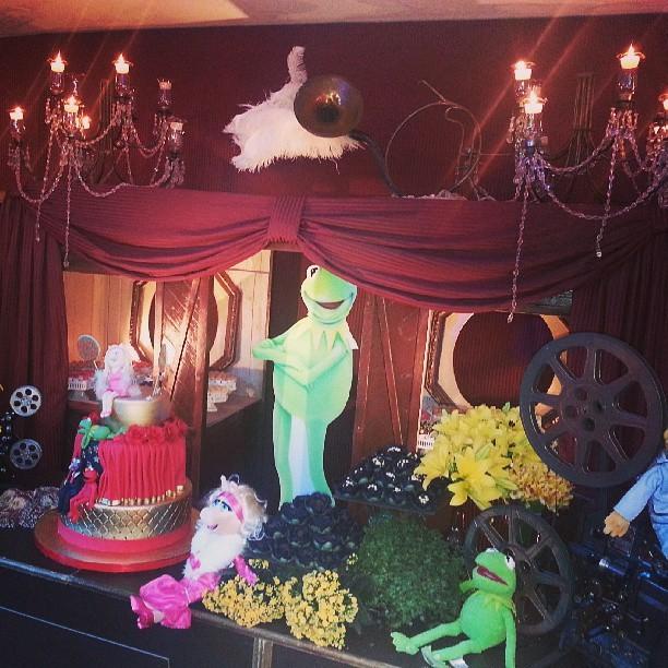 Decoração da casa de festas do aniversário das filhas de Rodrigo Faro (Foto: Instagram / Reprodução)